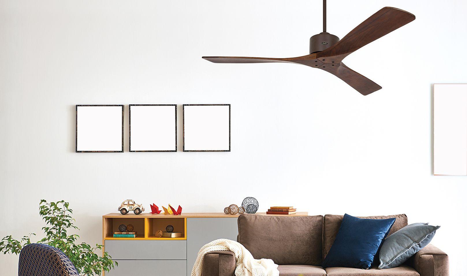 ventilateur pour plafond macau bois